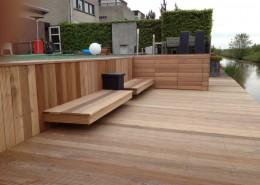 Houten vlonder & terras bouw
